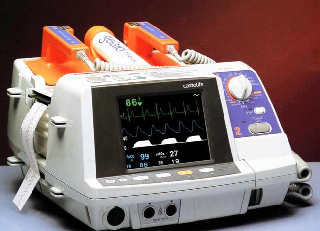 自动体外除颤器产品应用的3.5寸液晶屏方案